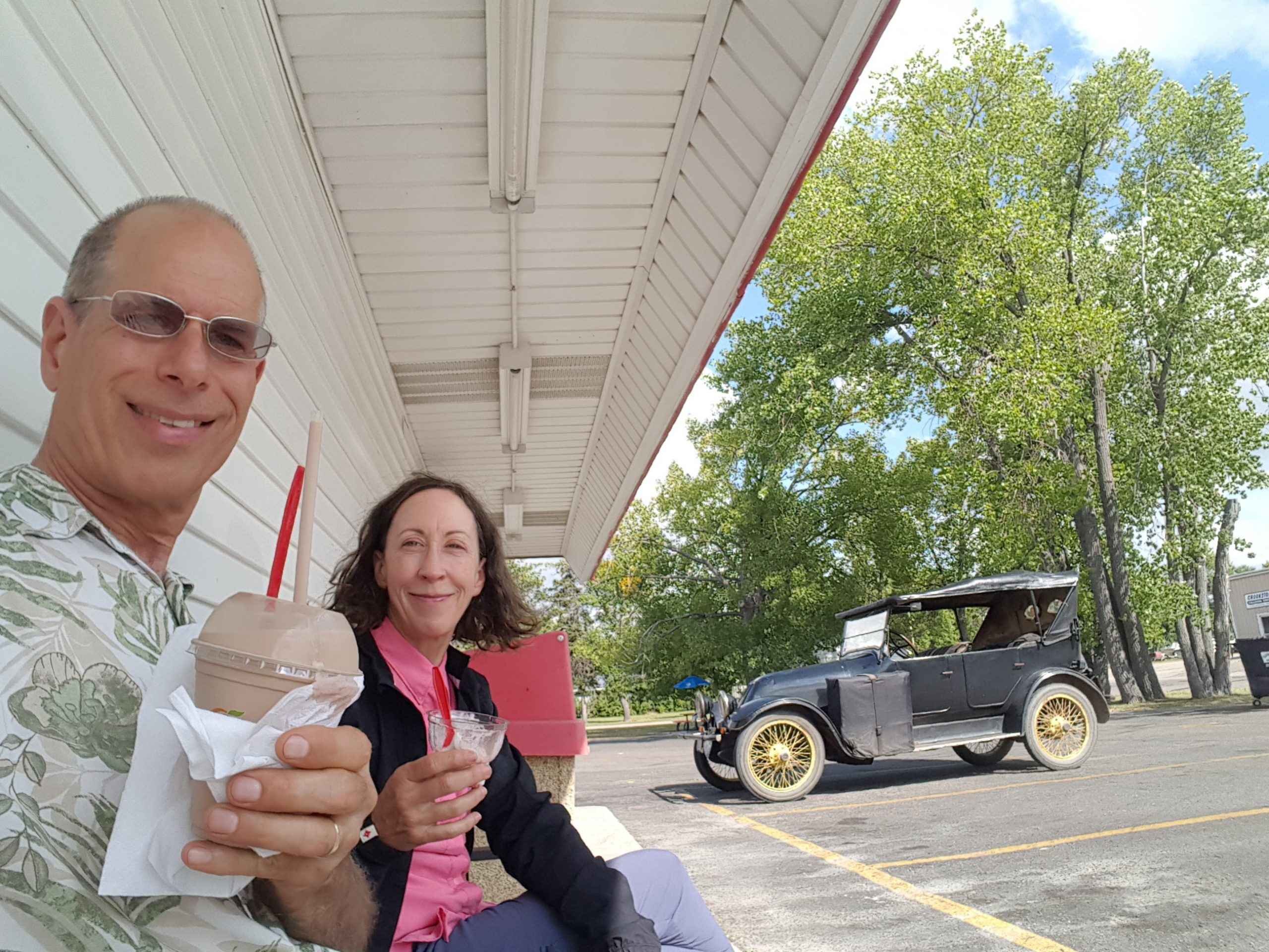 1919 Franklin ice cream