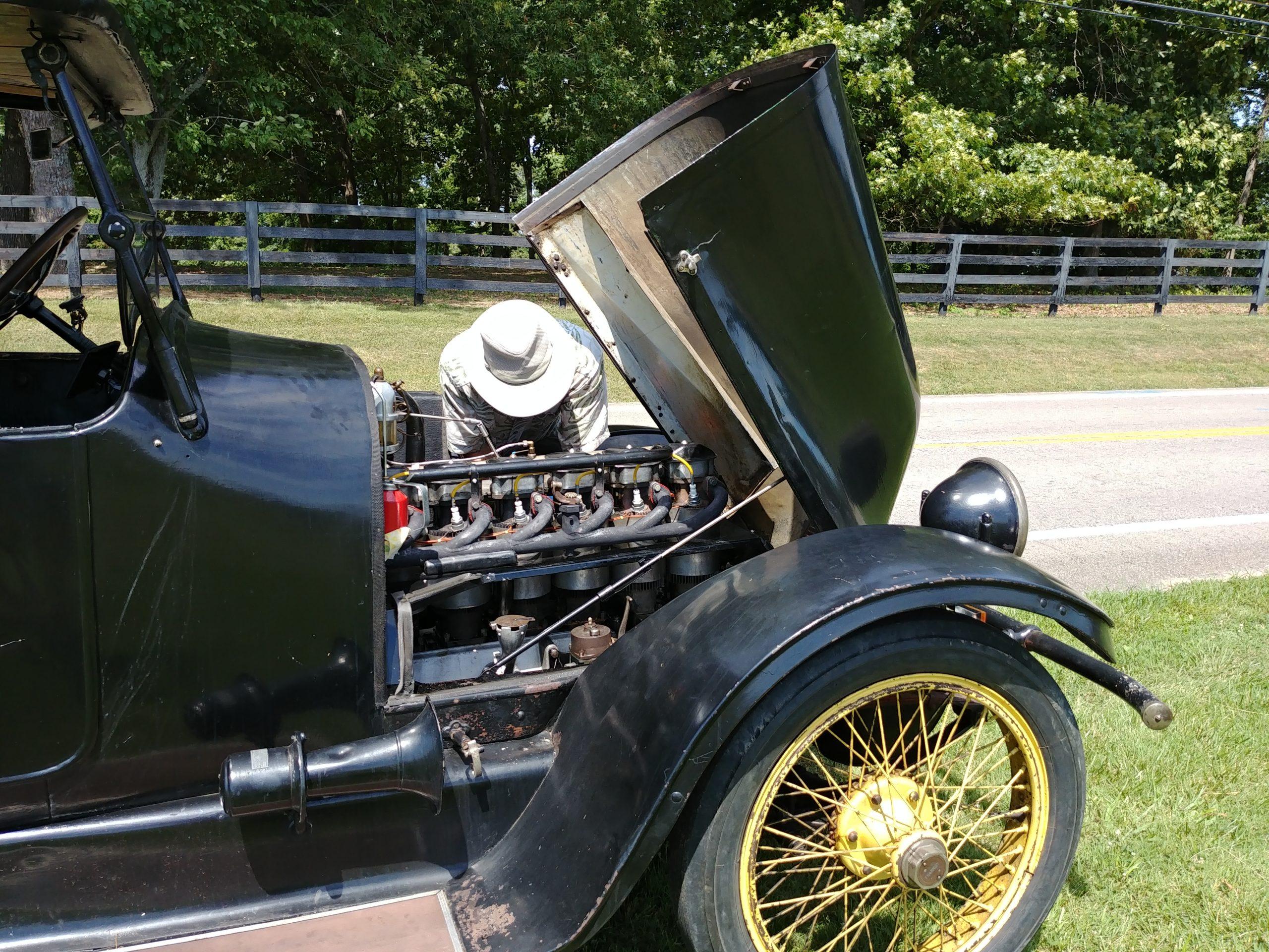 1919 Franklin engine repair