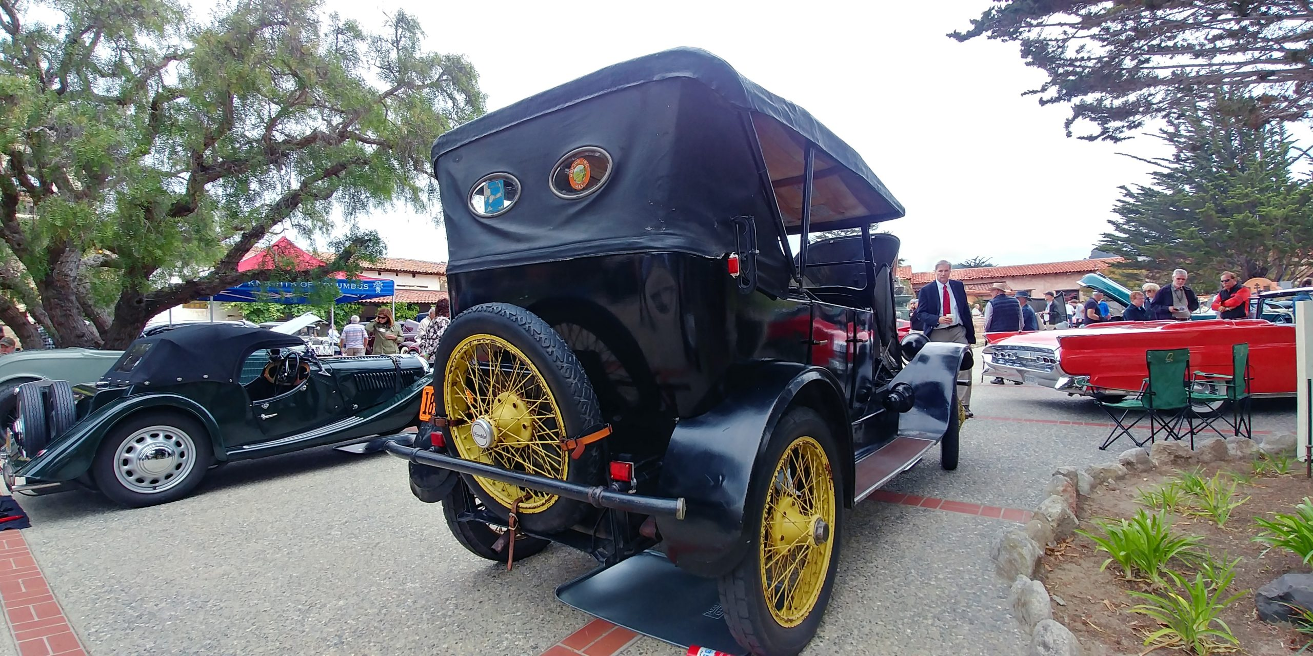 1919 Franklin rear three-quarter