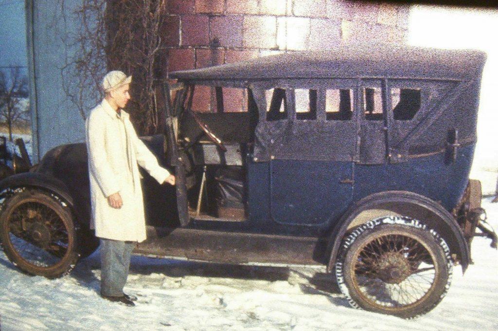 1919 Franklin vintage image