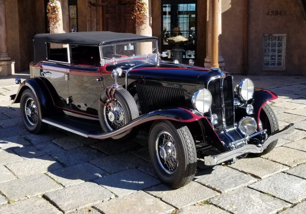 1931 Auburn 898 Phaeton - Thomas Craig 2