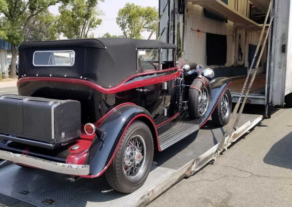 1931 Auburn 898 Phaeton - Thomas Craig 3 - Arrival