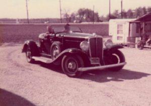 1931 Auburn 898 Phaeton - Thomas Craig 4 - Father in Erma speedster 1974