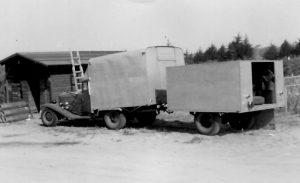 1931 Auburn 898 Phaeton - Thomas Craig 6 - Father - Auburn 12 truck - 1950
