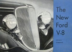 1933 Ford brochure