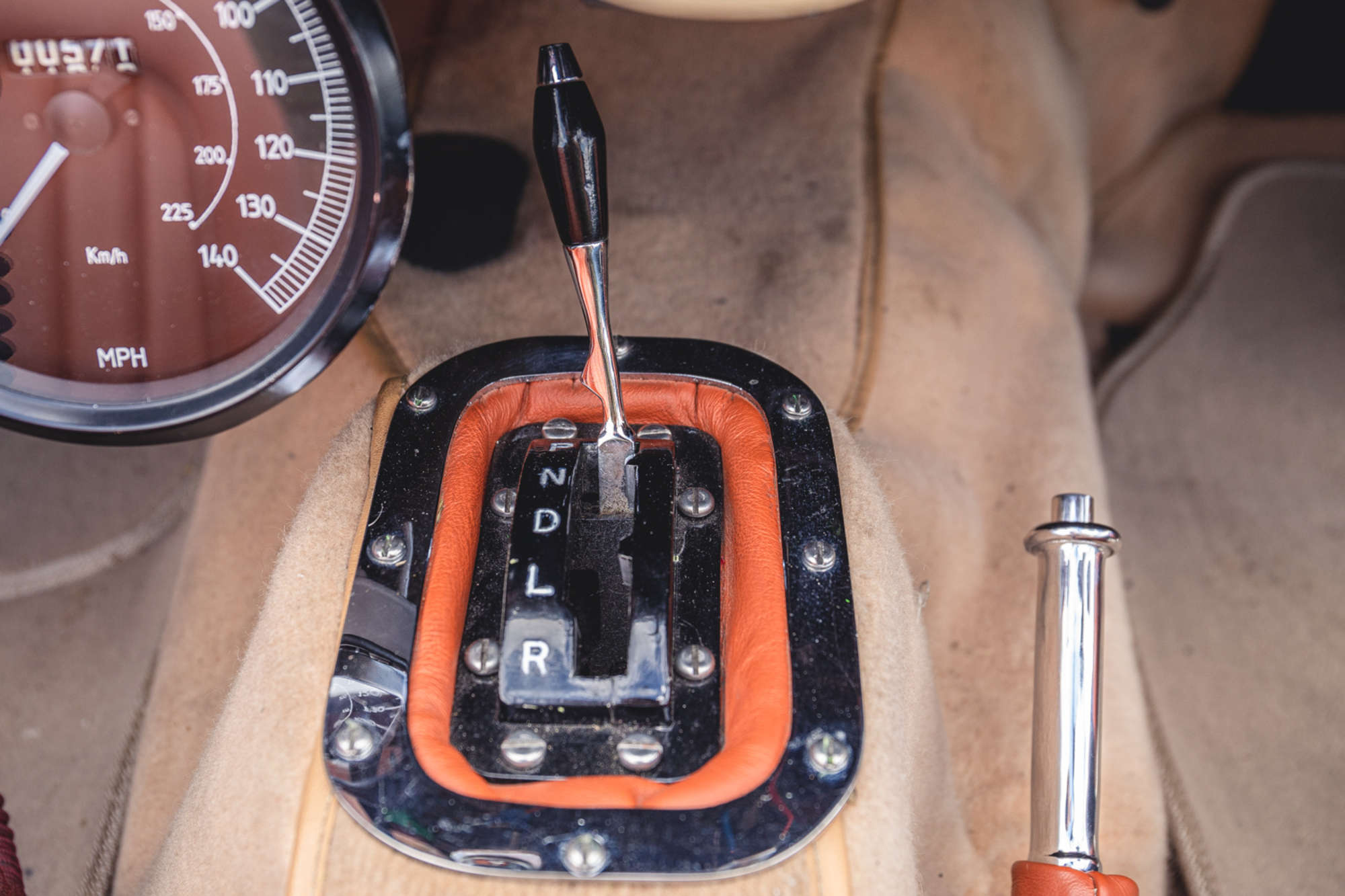 1961 Daimler SP250 Ex Metro Police interior shifter