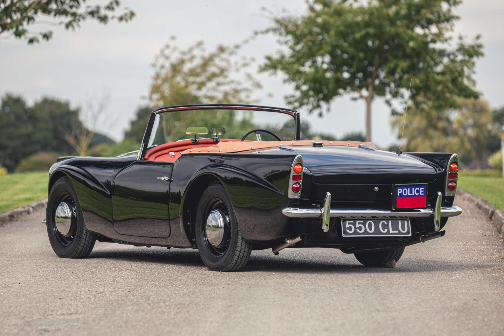 1961 Daimler SP250 Ex Metro Police rear three-quarter