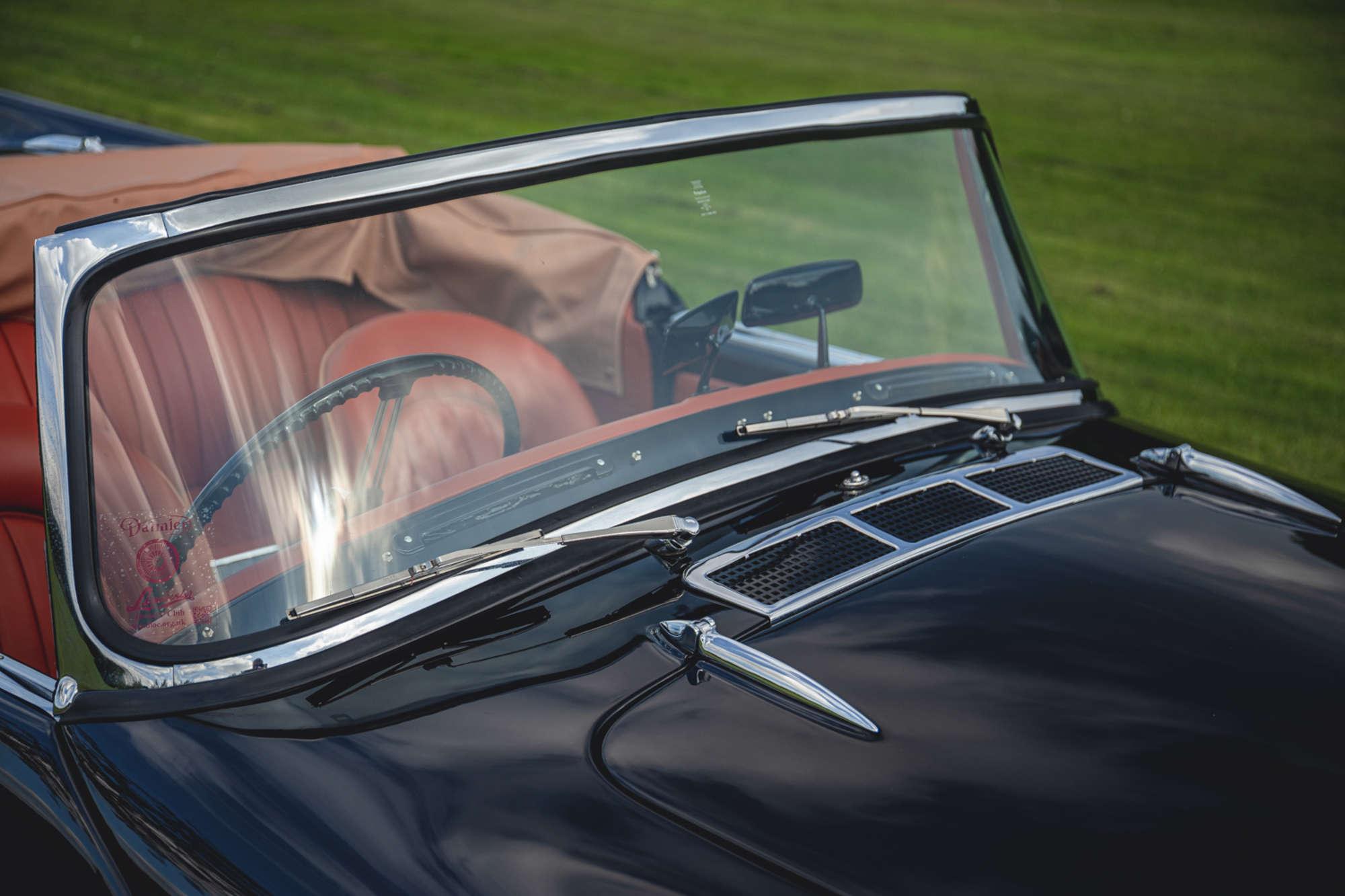 1961 Daimler SP250 Ex Metro Police glass