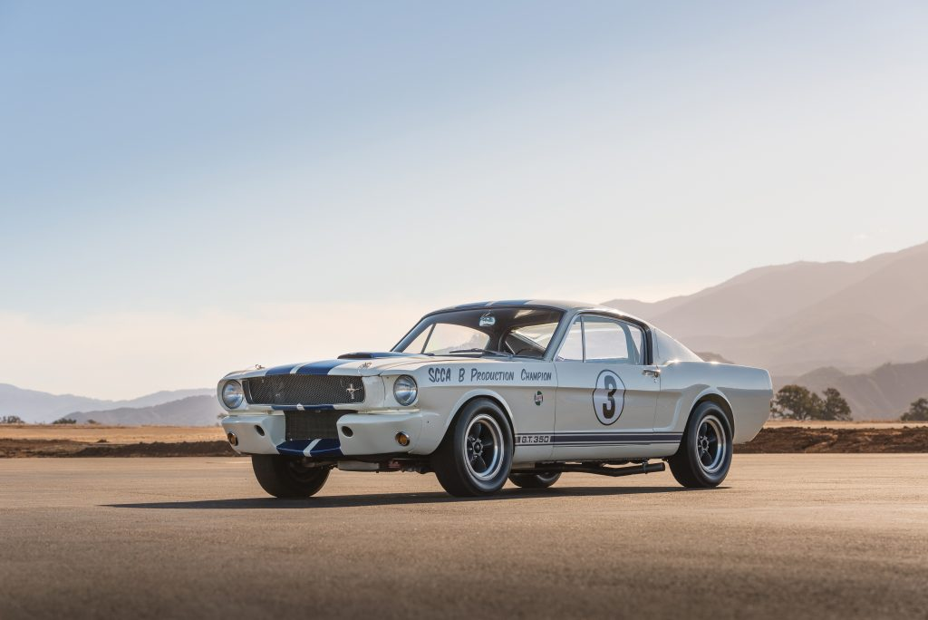 1965 Shelby GT350 R front three-quarter