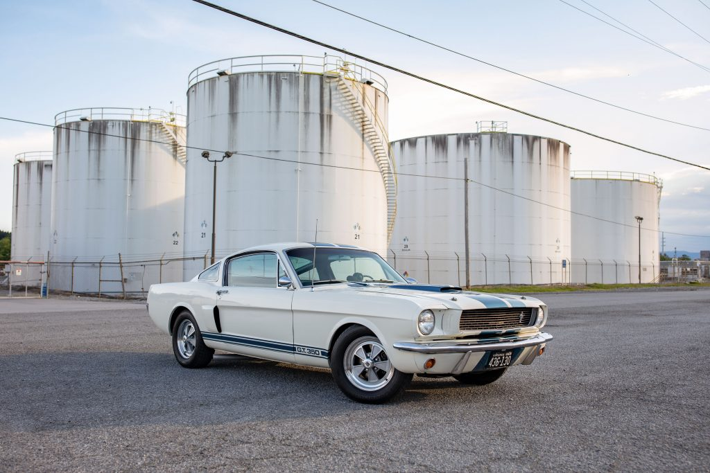 1966 Shelby GT350 Carry Over front three-quarter