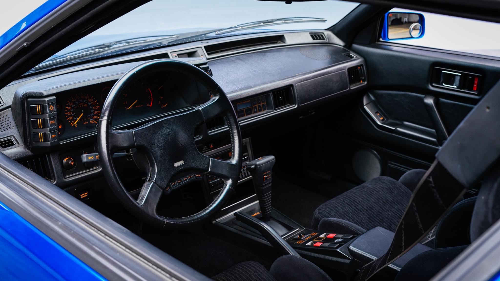 1988 Chrysler Conquest TSi interior