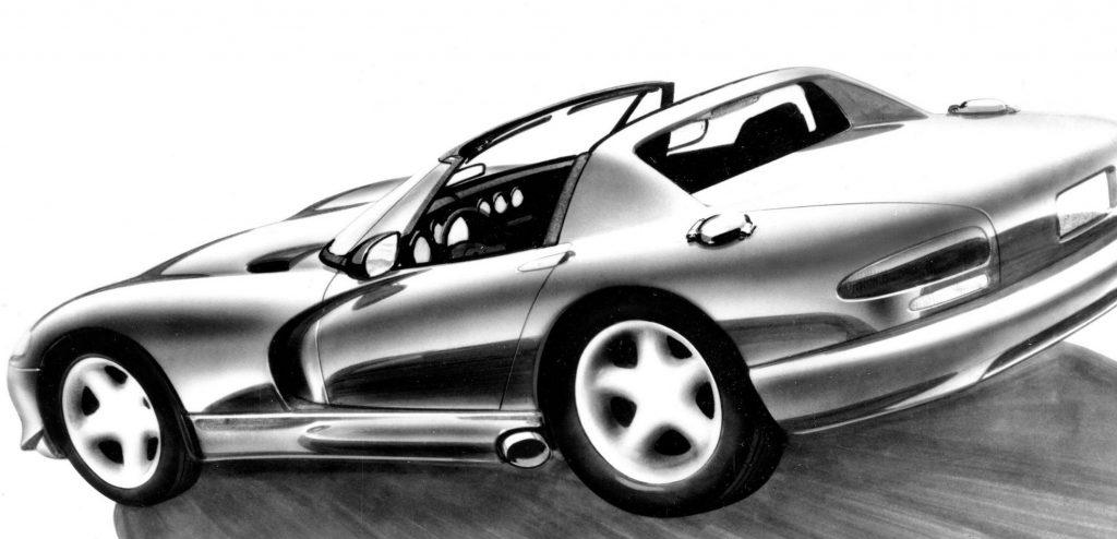 viper concept drawing