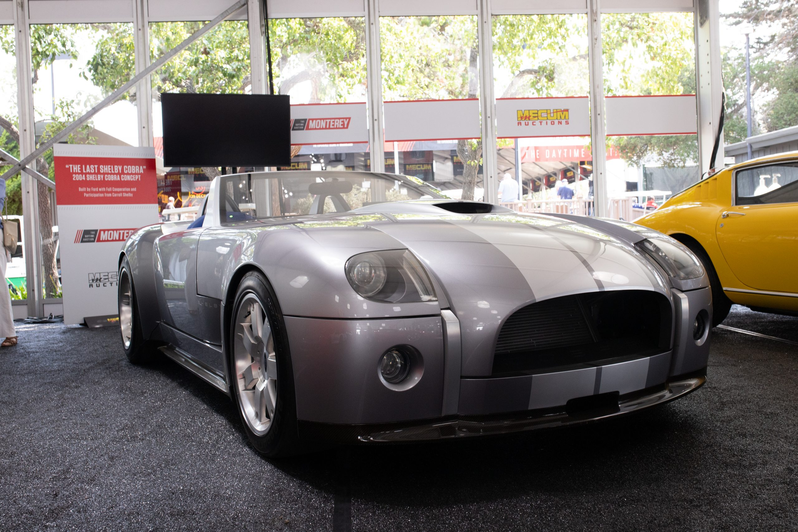 2004 Ford Shelby Cobra concept front monterey auction