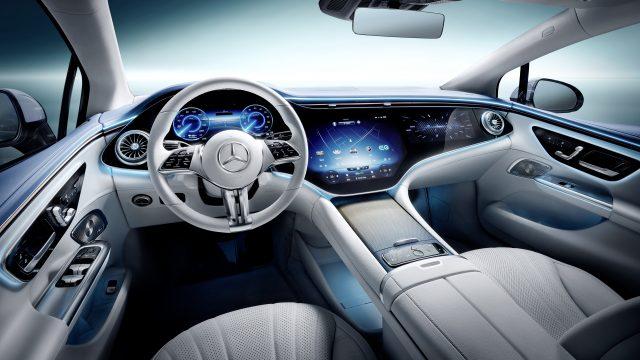 Mercedes-EQ. EQE 350, Edition 1, AMG Line interior