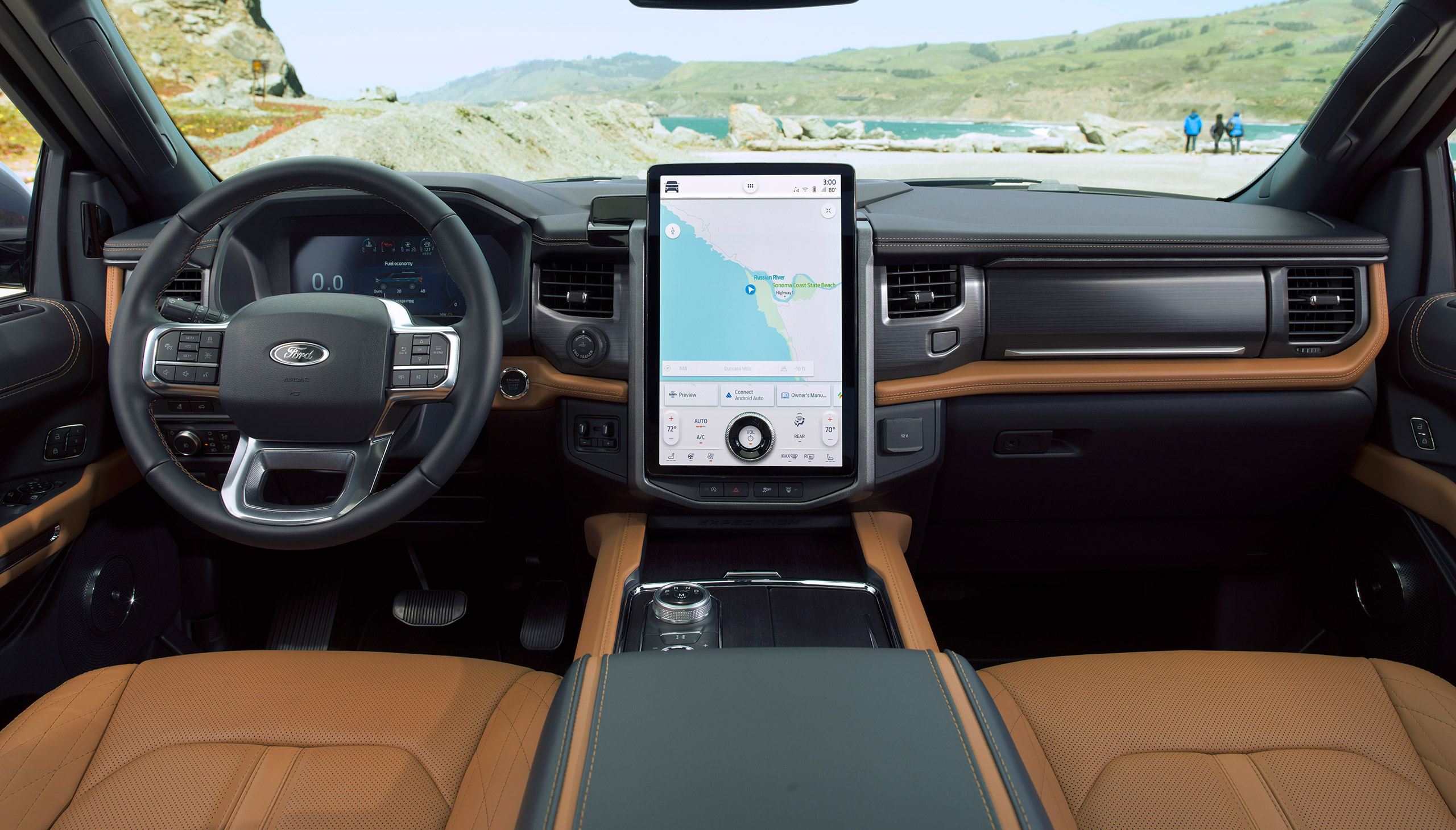 2022 Ford Expedition Limited Interior full width