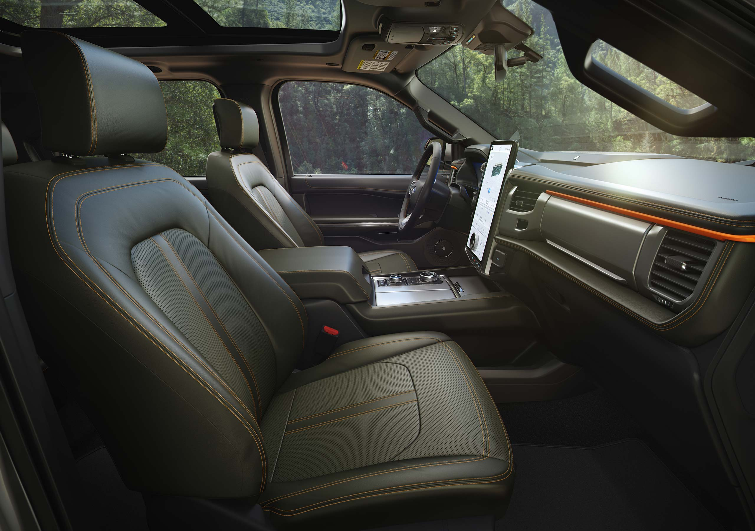 2022 Ford Expedition Timberline interior side view