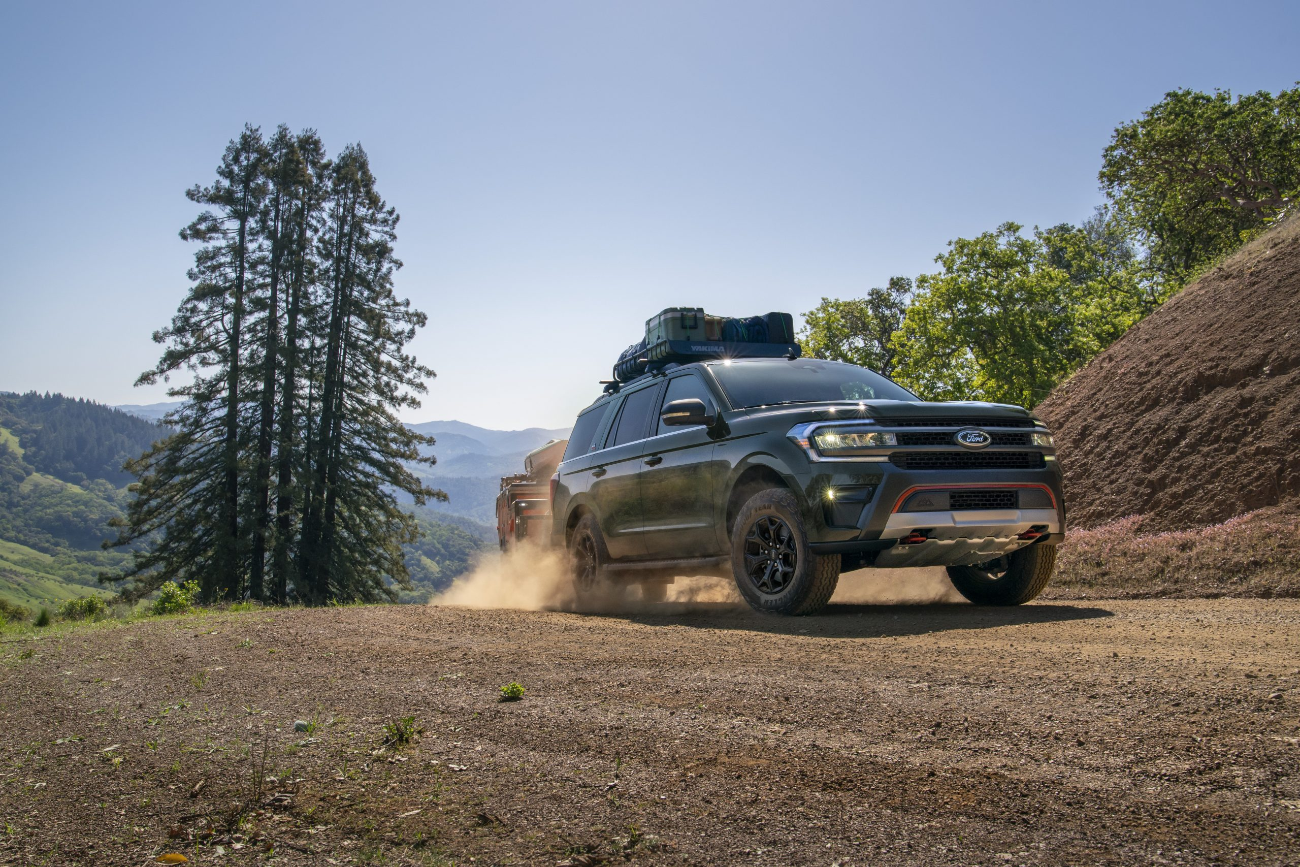 2022 Ford Expedition Timberline Dirt towing