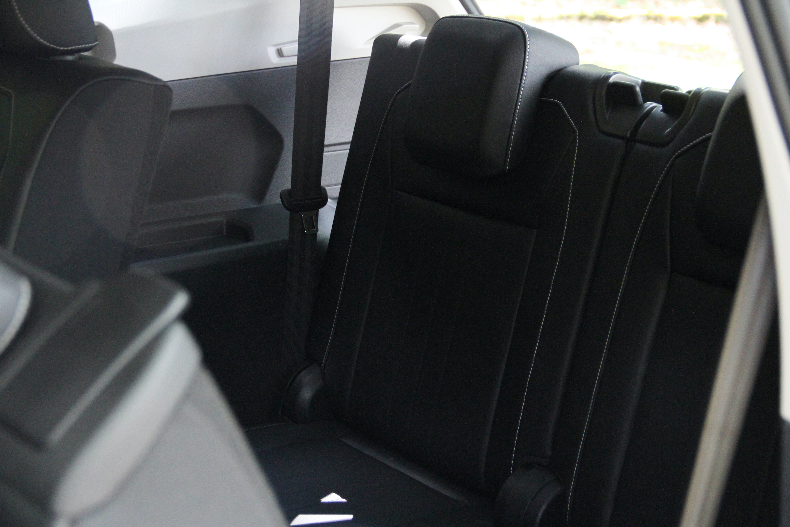 2022 VW Tiguan SE rear third row seat