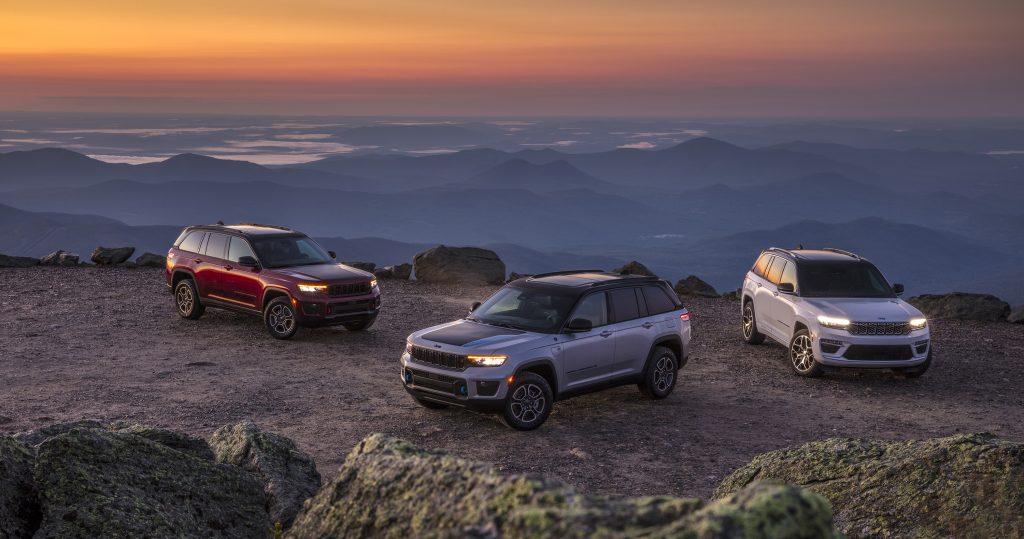 2022 Jeep Grand Cherokee three models