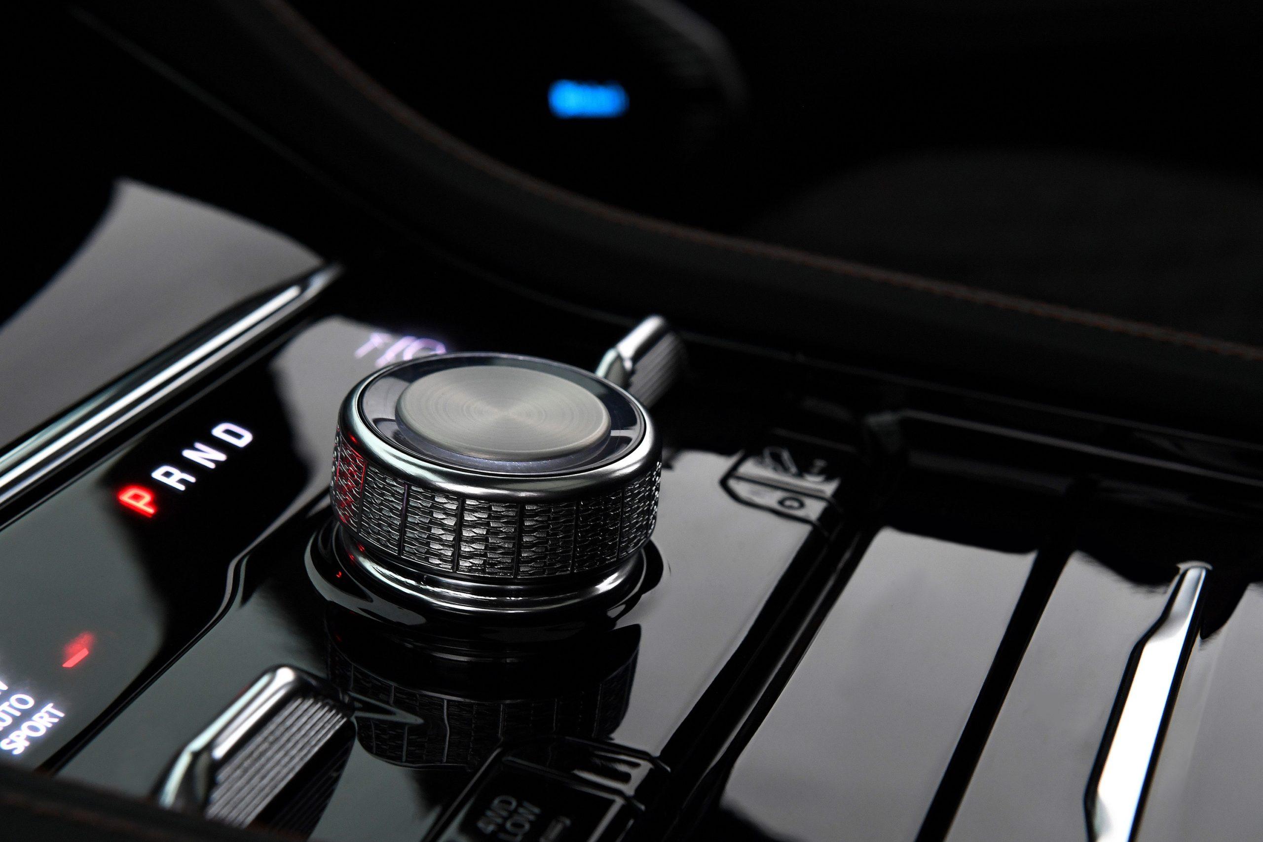 2022 Jeep Grand Cherokee rotary shifter