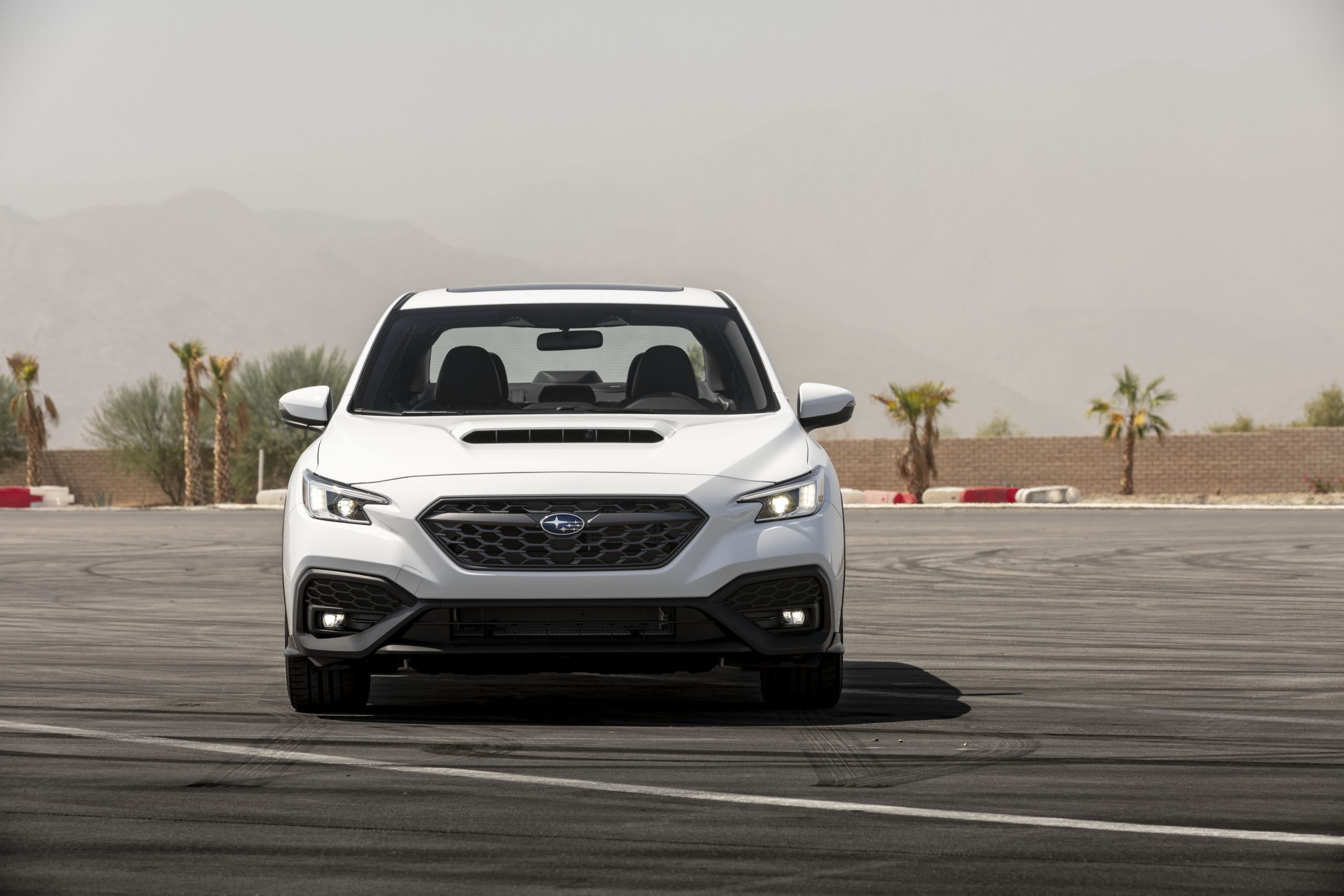 2022 Subaru WRX white front