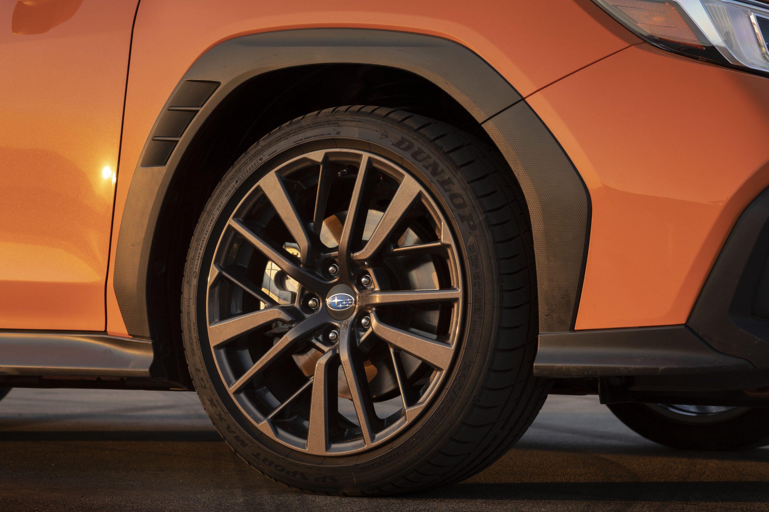 2022 Subaru WRX wheel