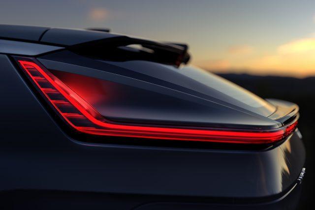 2023 Cadillac Lyriq taillight top