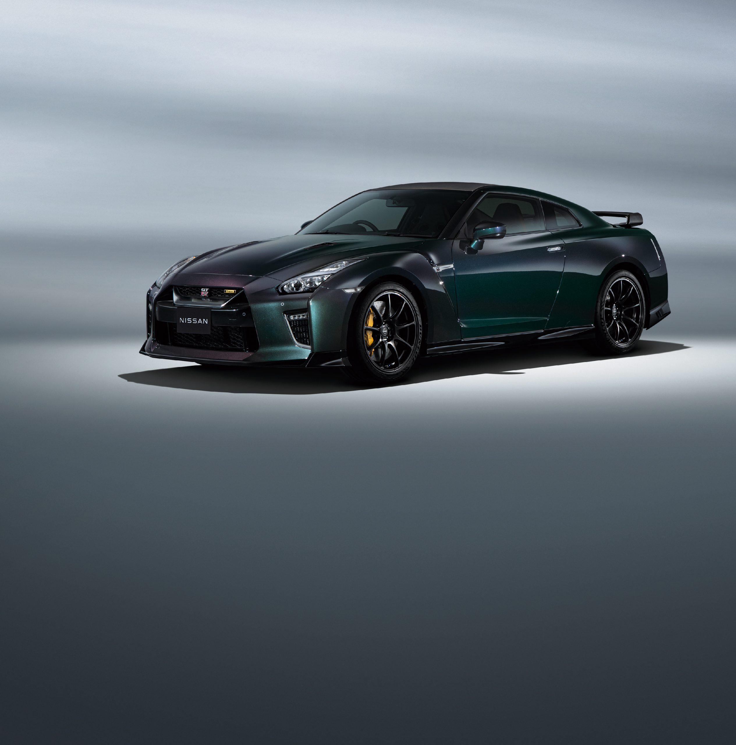 2022 Nissan GT-R T-Spec Track Edition Midnight Purple