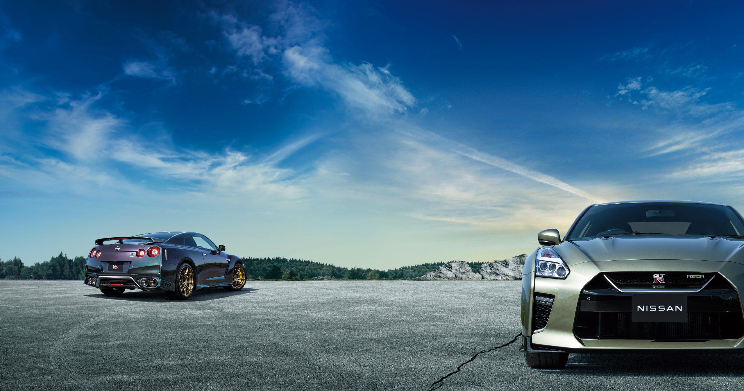 2022 Nissan GT-R Premium T-Spec and Track Edition T-Spec