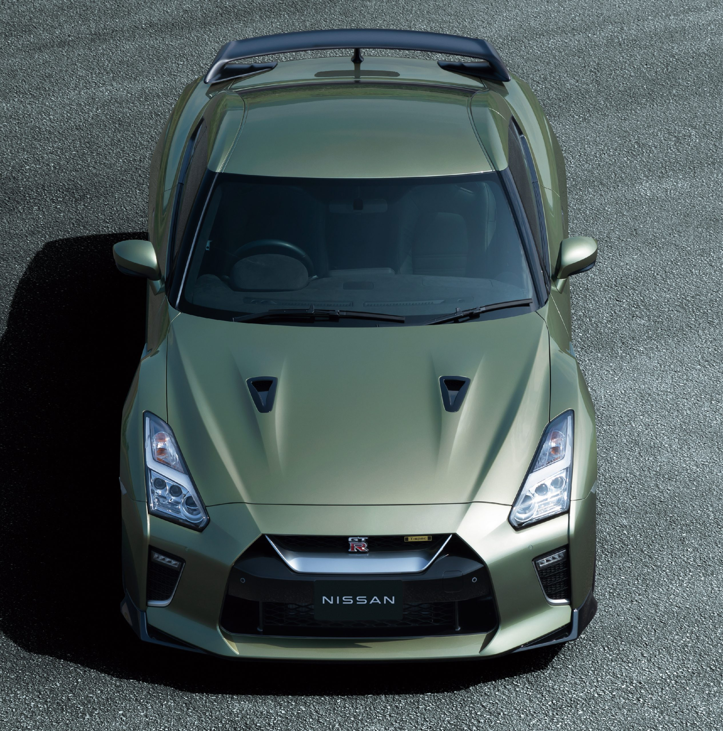 2022 Nissan GT-R front