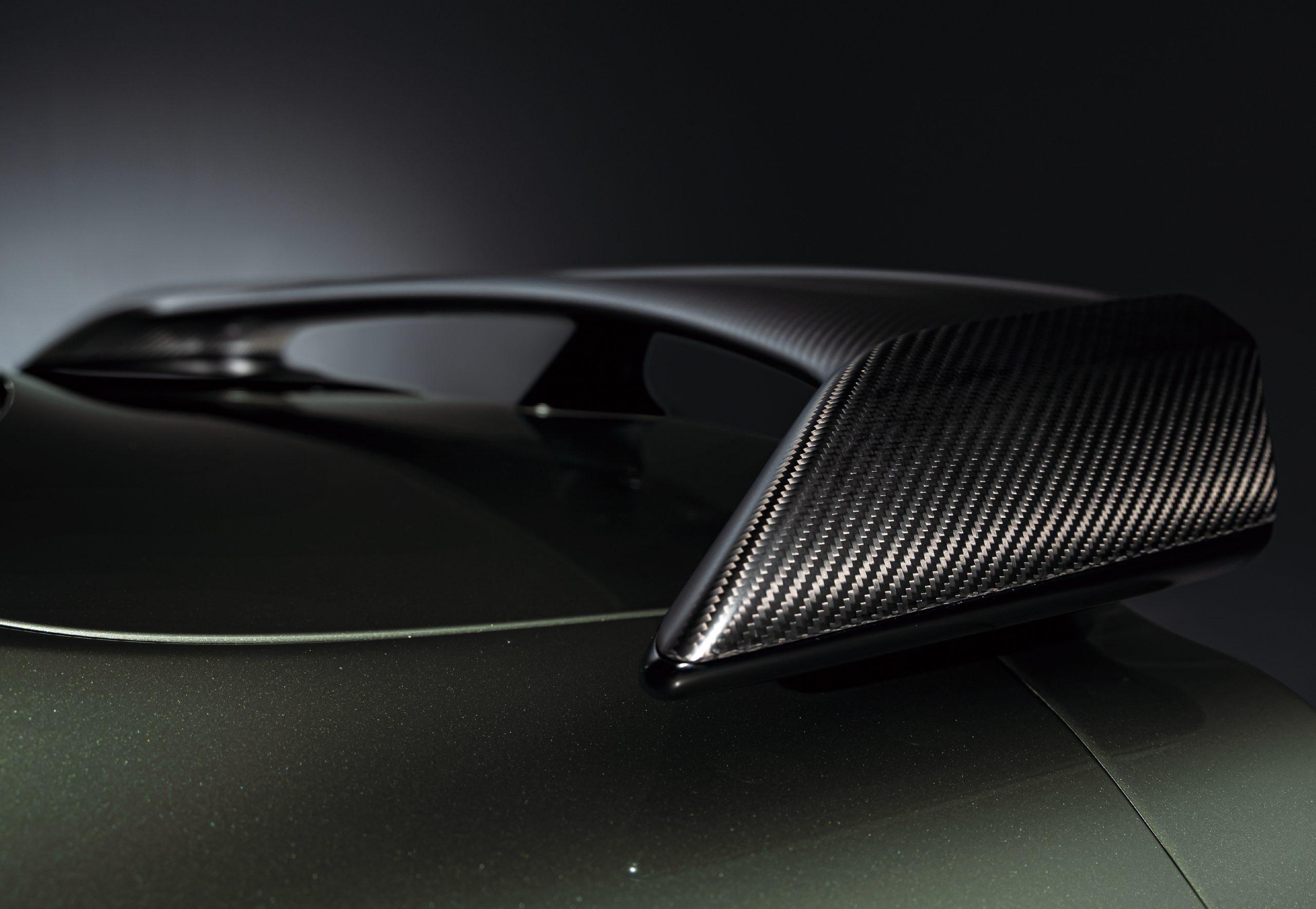 2022 Nissan GT-R Premium T-Spec carbon fiber spoiler