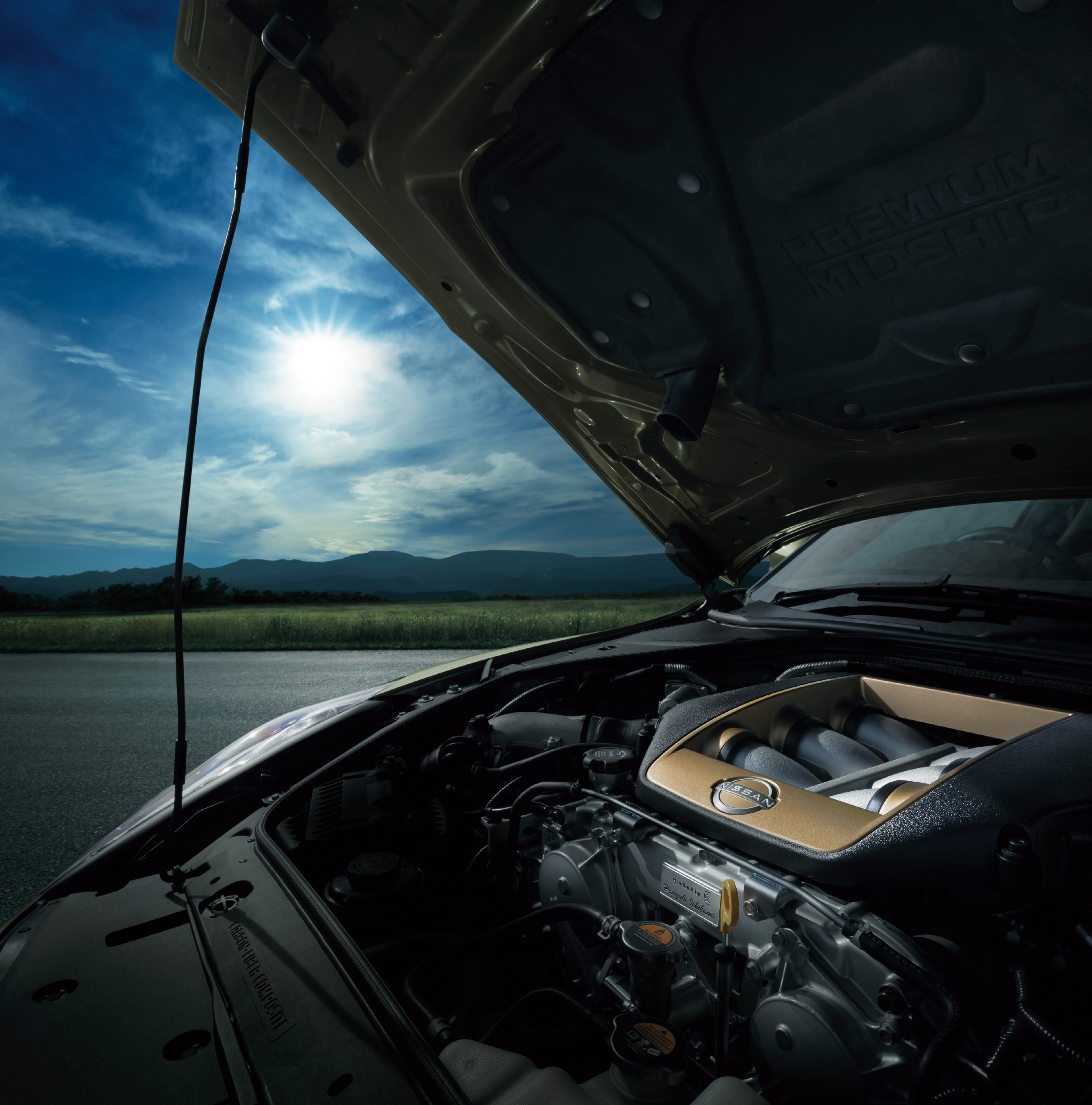 2022 Nissan GT-R Premium T-Spec engine