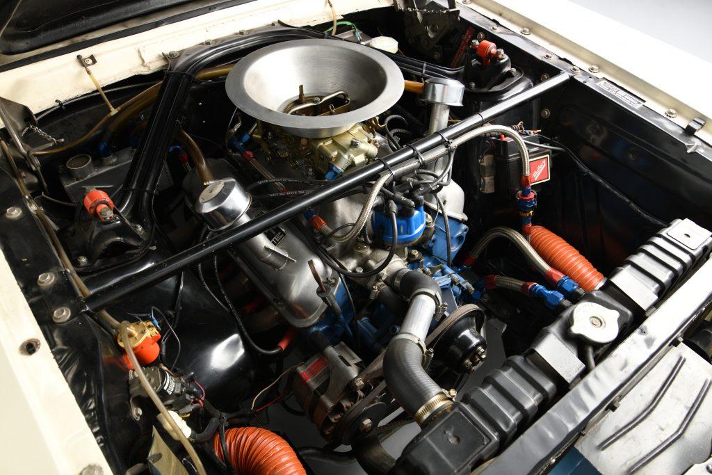 Sir Stirling Moss GT 350 engine