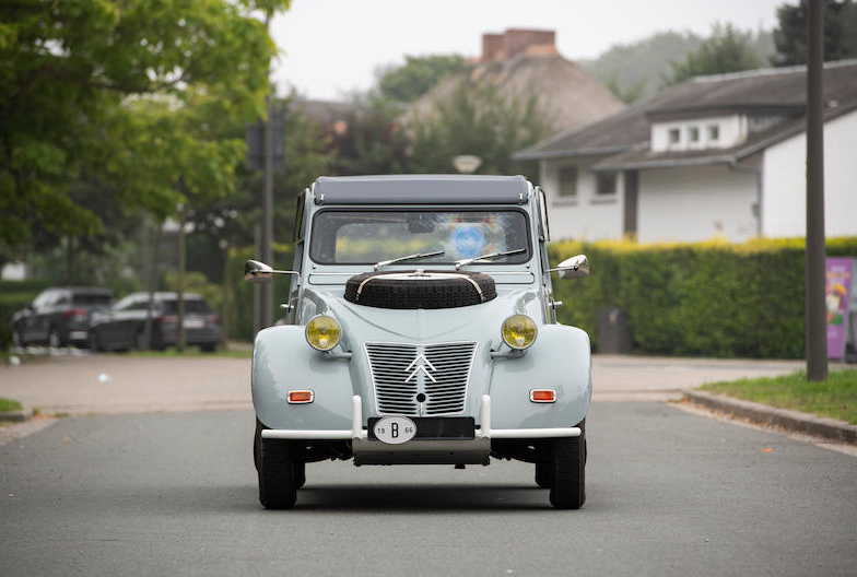 1966 Citroën 2CV Sahara AZ 4x4 front