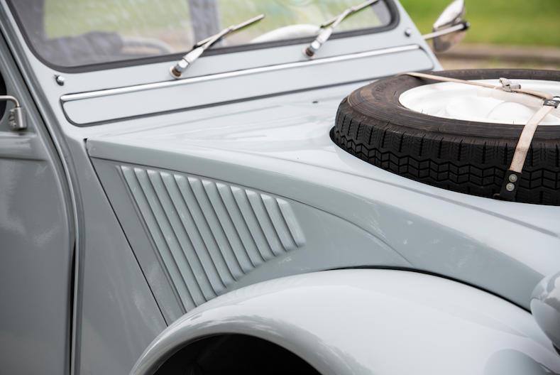 1966 Citroën 2CV Sahara AZ 4x4 hood