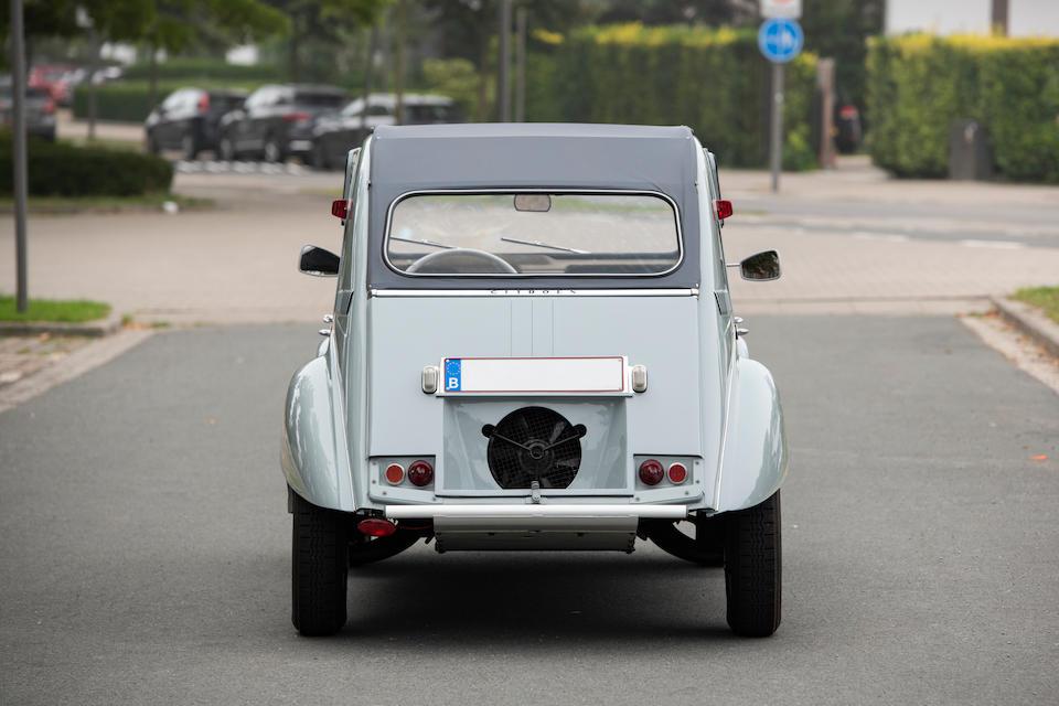 1966 Citroën 2CV Sahara AZ 4x4 rear
