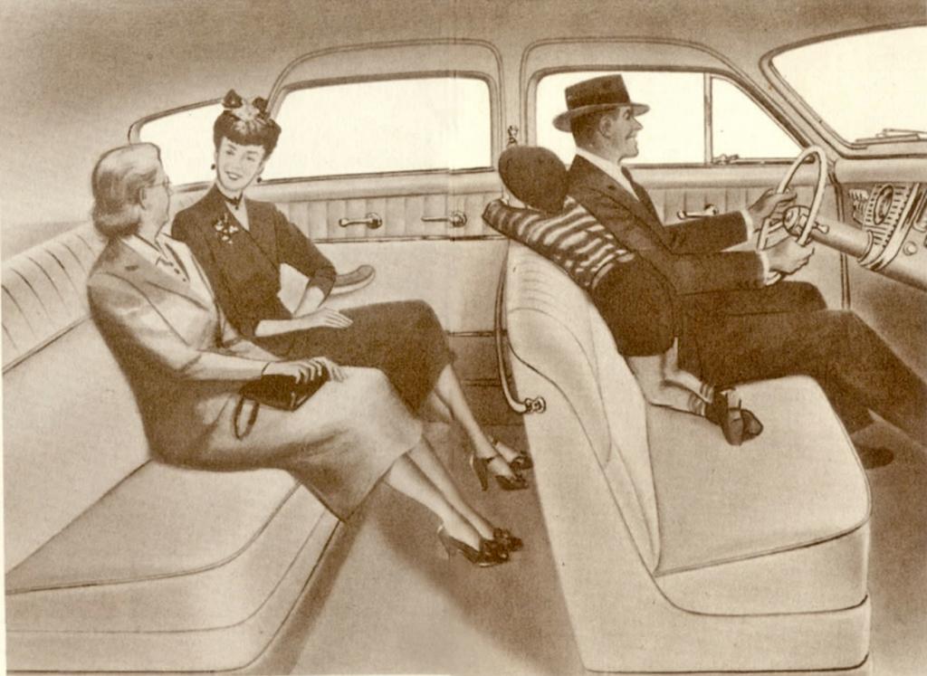 1948 Tucker brochure interior