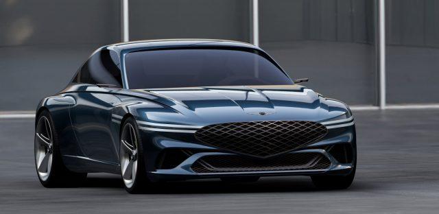 Genesis X Coupe concept EV
