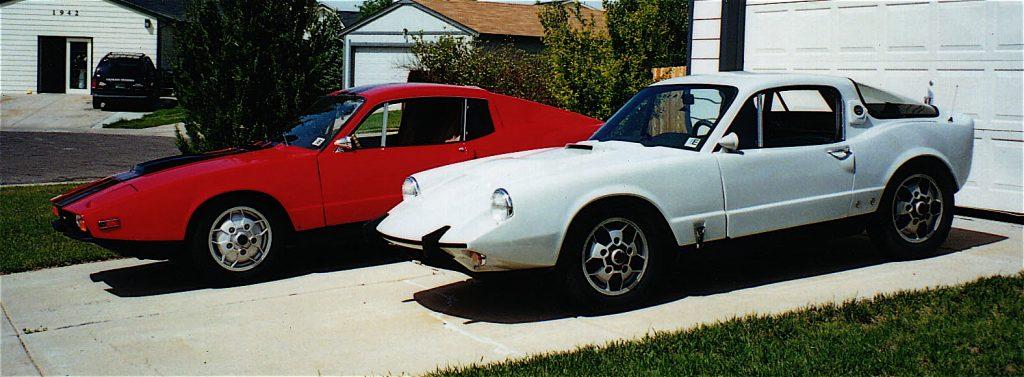 1968 and 1972 Saab Sonetts