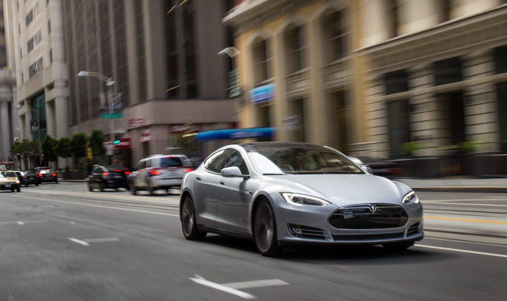 first gen Tesla Model S