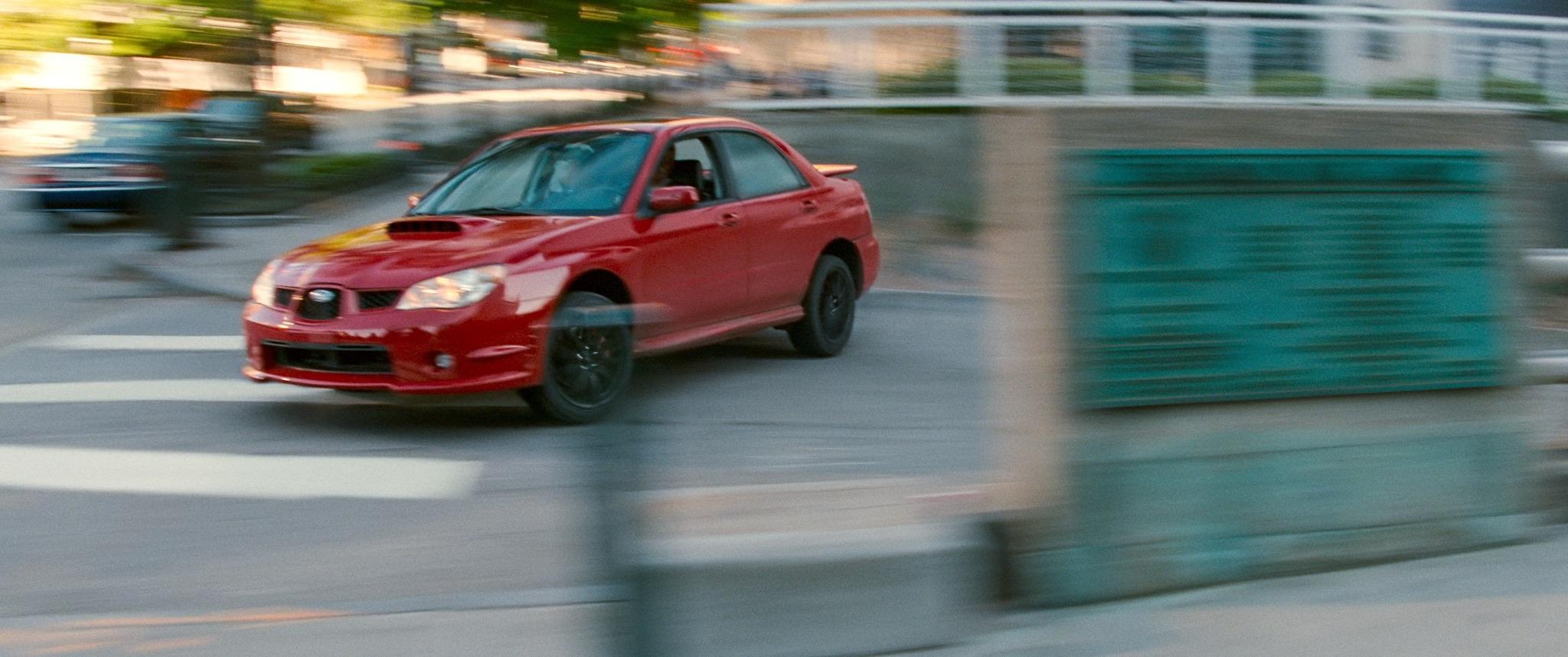 Baby Driver film impreza drift action