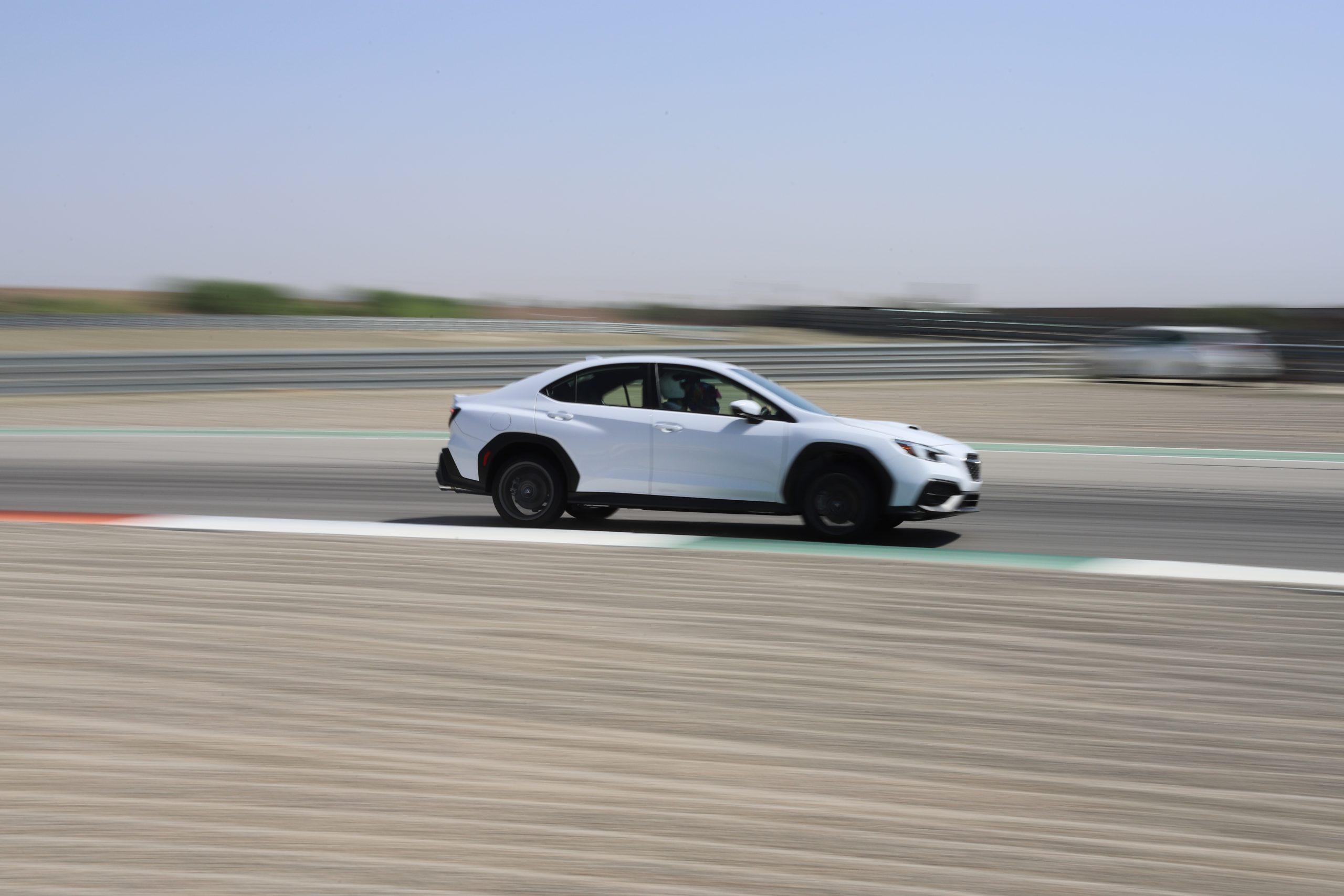 2022 Subaru WRX side profile action