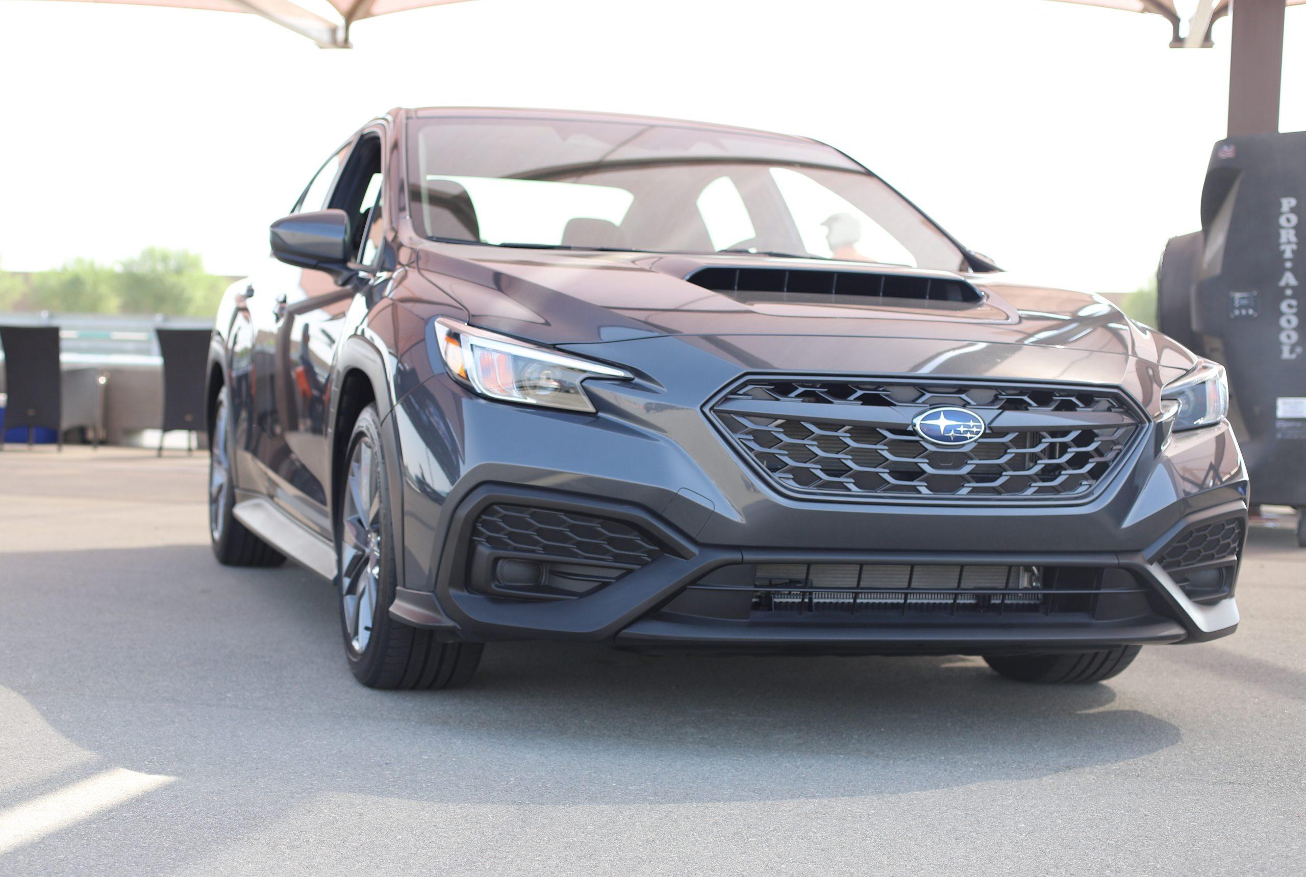 2022 Subaru WRX graphite front