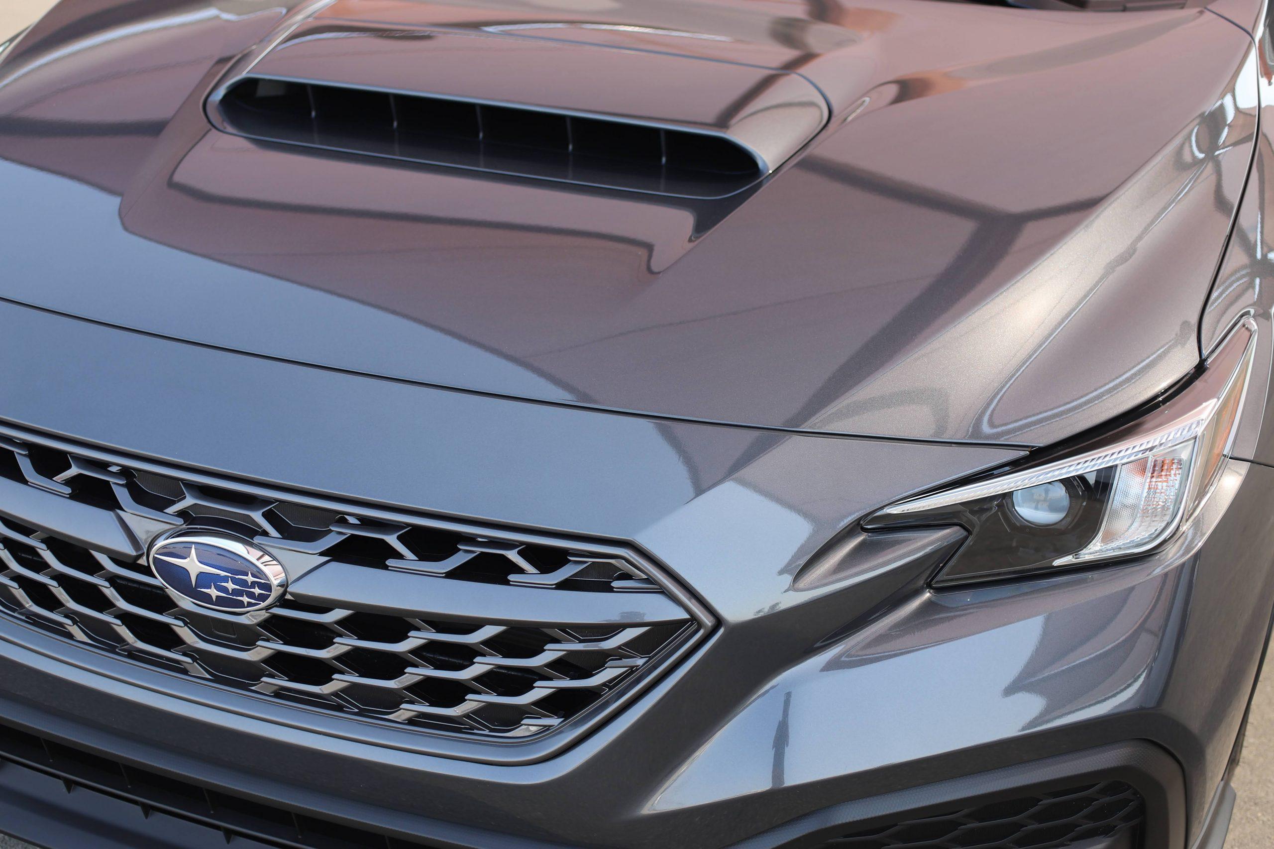 2022 Subaru WRX graphite front end