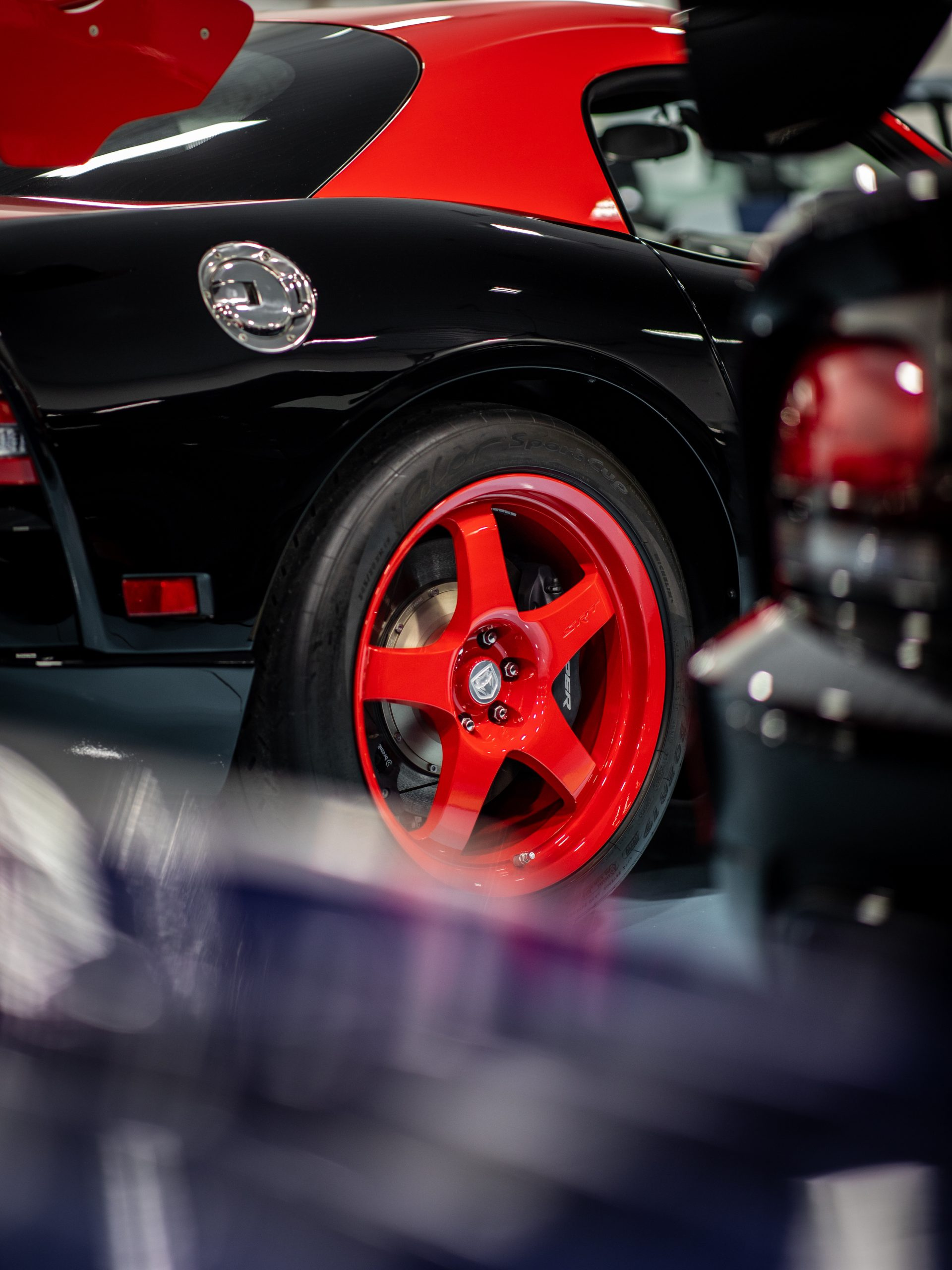 Viper collection red wheel