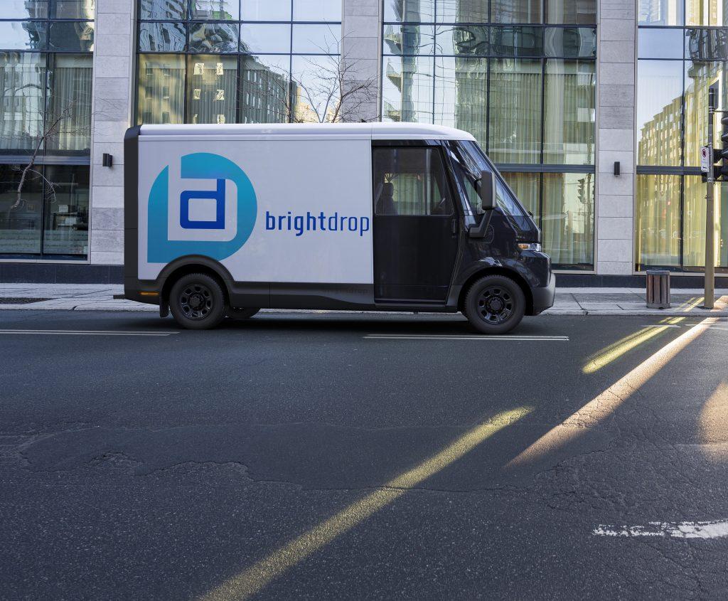 BrightDrop EV410 EV delivery truck
