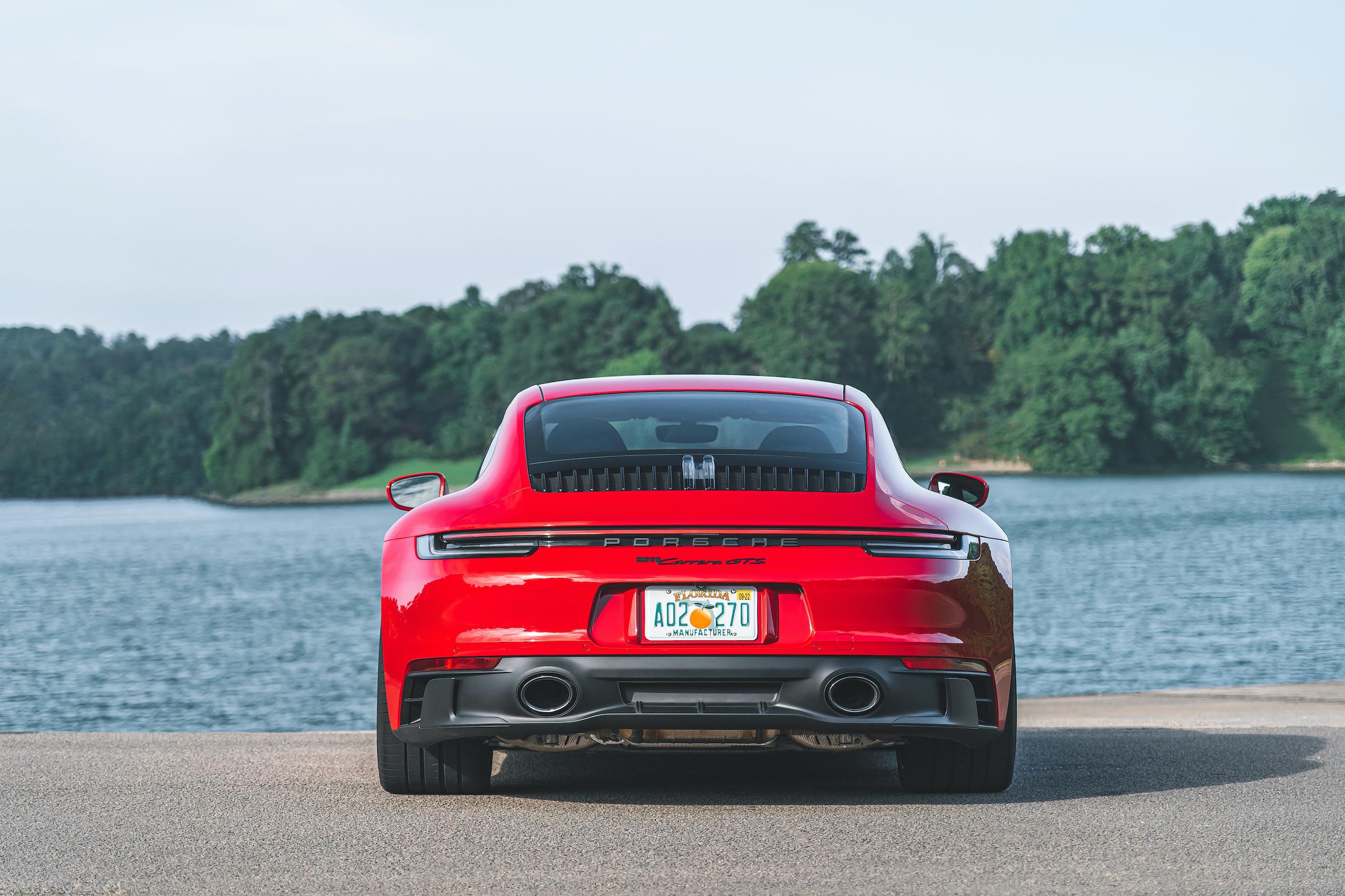 Porsche 911 GTS rear
