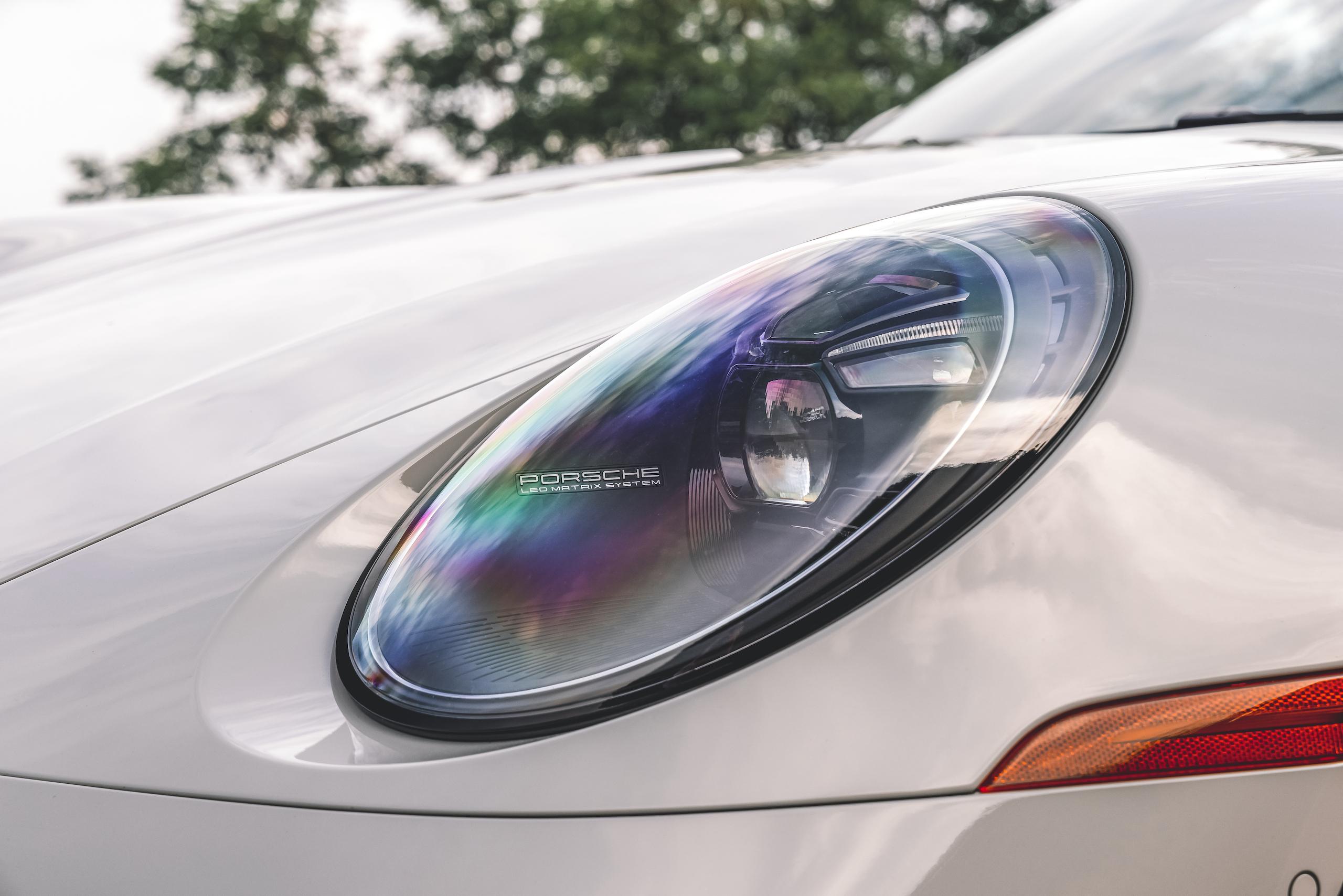 Porsche 911 Targa 4 GTS headlight led matrix system