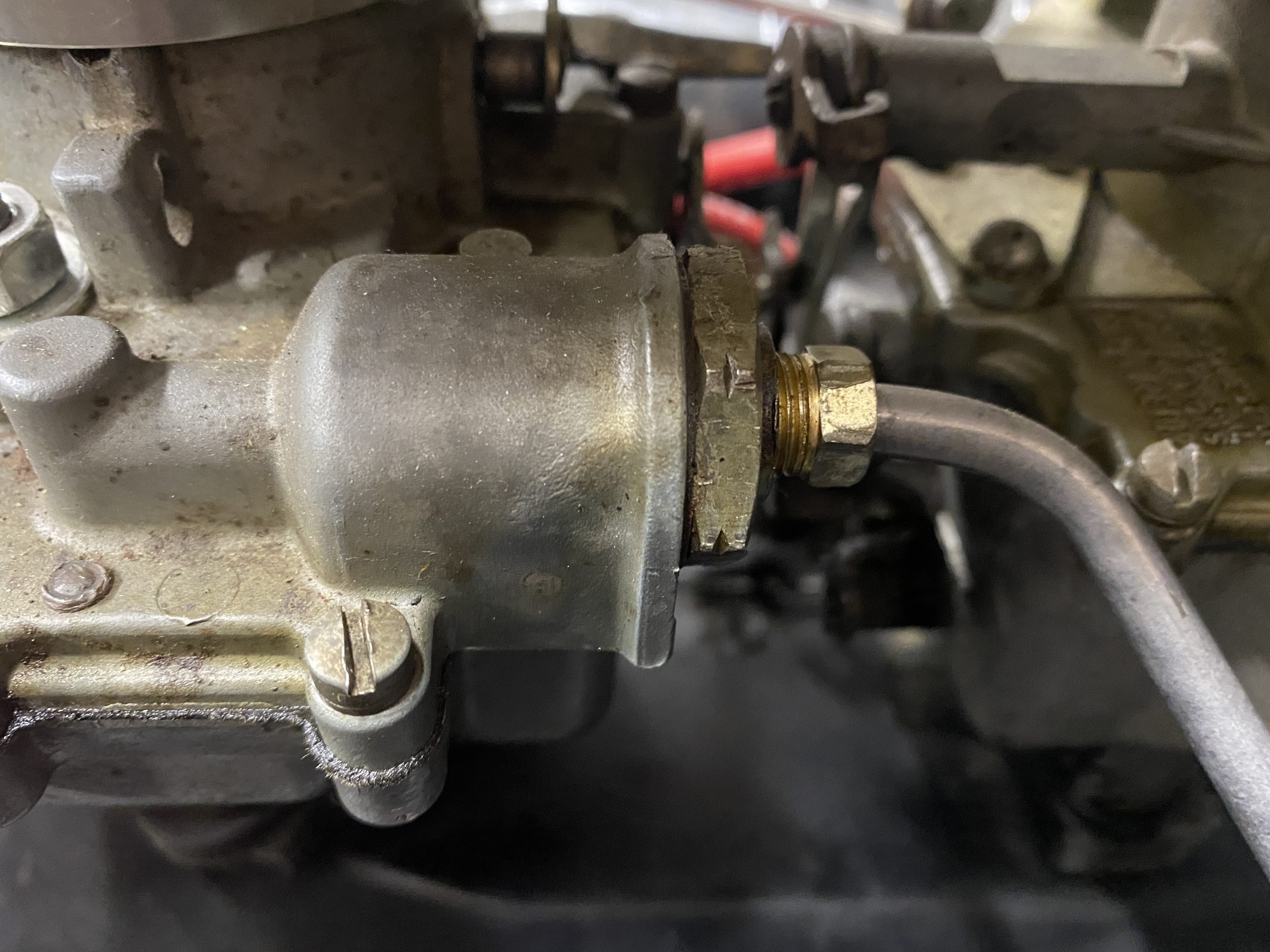 Corvair carb nuts