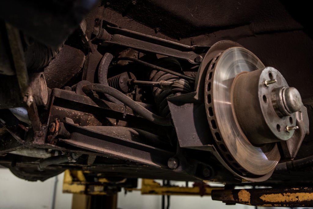 Ferrari Dino suspension and brakes
